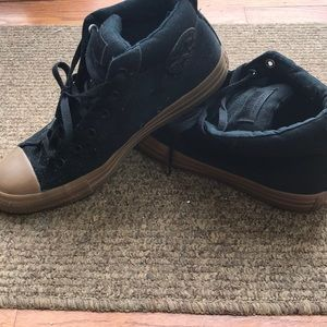 Converse all star hi top basketball sneaker black